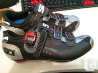 For sale are SIDI Scape Genius 5 Pro Mega Road Shoes -