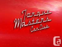 The Torque Masters Car Club has a full weekend of