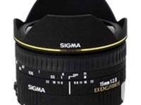 Sigma 15mm f/2.8 EX DG Diagonal Fisheye Autofocus Lens