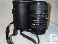 Sigma UC 28-70mm f:3.5-4.5 zoom lens with Vivitar MC