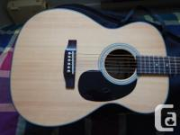 Sigma Acoustic Guitar Excellent condition and sound .