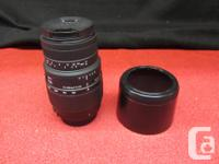 $133 PRICE INCLUDES ALL TAXES. SIGMA DG 70-300mm 1