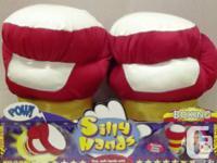 Silly Hands Jumbo Animated Gloves - Hockey & Boxing