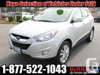 Year: 2011 Make: Hyundai Model: Tucson Trim: Limited