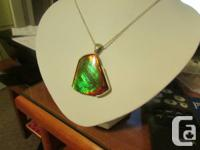 Ammolite actions 37 x 33mm and is mainly eco-friendly