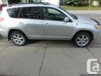 For sale by owner, 2007 silver Toyota Rav 4 SUV,