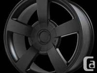 Silverado SS matte black wheels starting at 198.00each,