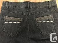 Simon Chang Designer Jeans Size 12 Worn once.