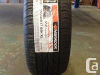Single 205/40 R17 84H Hankook Ventus V2 Idea M+S tire.