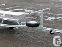 New North Woods Sport Trailers single boat trailer