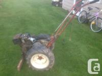 1951 Convenience M-1 two rolled yard tractor. Tires are