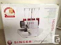 VOCALIST 14CG754 ProFinish 2-3-4 Thread Serger.