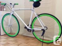 This is a great customs single speed bike that I have