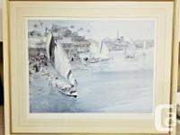 SIR WILLIAM RUSSELL FLINT signed LIMITED EDITION.RARE