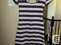 Strip dress - size small - $5 Strip tops -actual retail