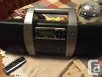 Sirius boombox, for car and home, complete set, never