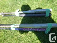 I have for sale 6 good used softball bats. The team