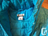 Warm winter jacket made by Columbia. Size 14/16.