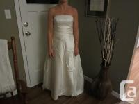 Alfred Angelo wedding outfit, ivory, size 4. Picture