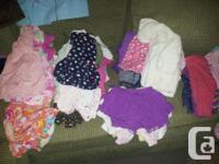 8 short sets 2 bathing suits 7 sundresses 16 Sleeveless