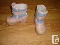 I have a pair of Size 6 Toddler Pink Weather Spirits