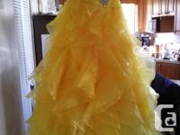 This dress was purchased for a graduation and was worn