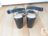 A pair of beautiful size 8 black classy Calvin Klein