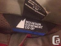 Ladies Mountain Equipment Co-op running jacket.