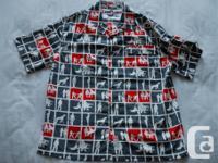 New Ecko Unltd short sleeve, 100 % polyester, button up