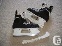 For Sale: Bauer Supreme Classic 100 skates. Mint