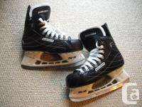 Available for sale; Bauer 'Nexus22' hockey skates.