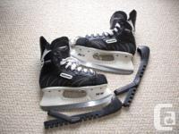 For Sale; Bauer Influence 200 hockey skates. Terrific