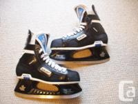For Sale; Bauer Supreme Custom made hockey skates.