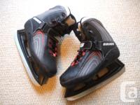 Available for sale; Bauer 'Xtra60' Softboot skates.