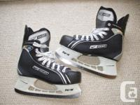 Available; Bauer Supreme' Pro' hockey skates. Tight