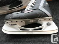 Two sets of hockey skates for sale bought brand new Feb