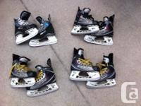 Bauer Vapor X Competing skates size 4;. Bauer Vapor X