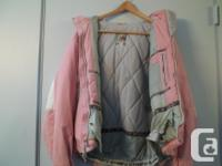 Adult ladies Firefly ski jacket and pants for sale.