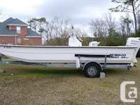 Referred to as the unsinkable fiberglass skiff loadeded
