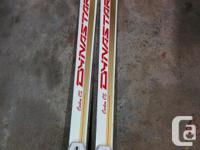 I have different skis and boots and a few Scott Poles.