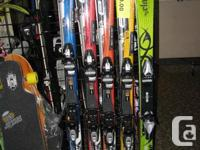 Skis, Bindings, and Ski Boots...Package Deal..MIX &