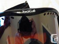 """RPR 185 Firefly skis $40 38 1/2"""" L Bolle Ski Goggles"""