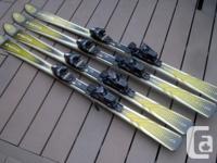 """One pair of 160cm Völkl """"Syntro S21"""" Sport Carve skis"""