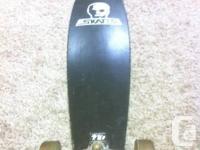 Truly stylish using Head Skates longboard. The sad