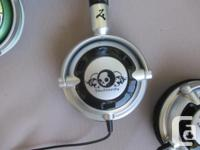 Selling some of my surplus headphones. One black and