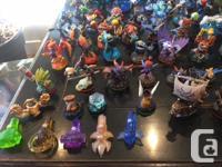 Skylanders figures from Spyros Adventure, Giants, Swap