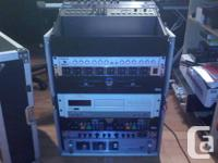 Hi ...     I'm selling my mixer Rack slant 24u space