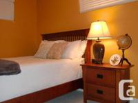 Full bed set - located in guest bedroom, rarely used