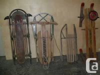 ANTIQUE SLEIGH COLLECTION would like to sell collection
