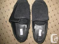 These sandals are men whose feet have a high instep or
